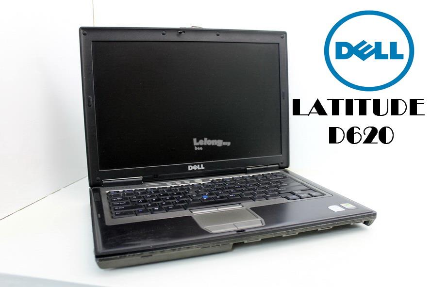 DELL LATITUDE D620 Laptop,Intel Dual Core 1.83Ghz,1Gb,60Gb hdd