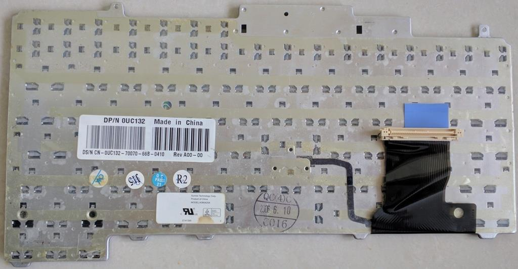 Used Dell Latitude D820 Laptop JAPAN Keyboard