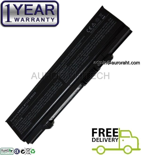 Dell Latitude E5400 E5410 E5500 E5510 E5550 WU841 WU843 WU852 Battery