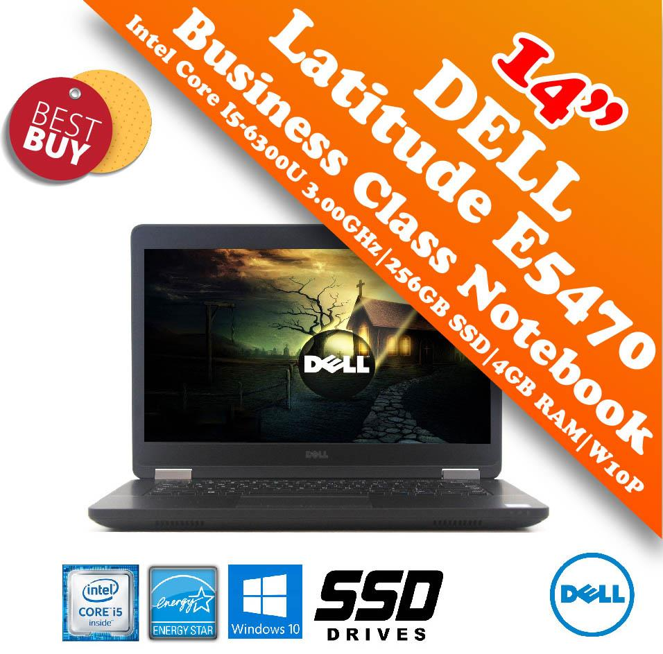 Dell Latitude E5470 i5-6300U Business Class Notebook Special Offer!!