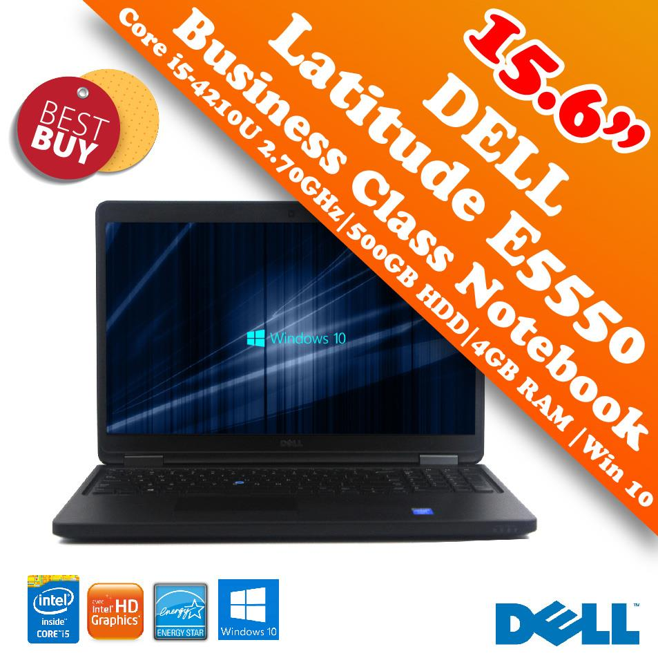 Dell Latitude E5550 i5-4210U Business Class Notebook Special Offer!!