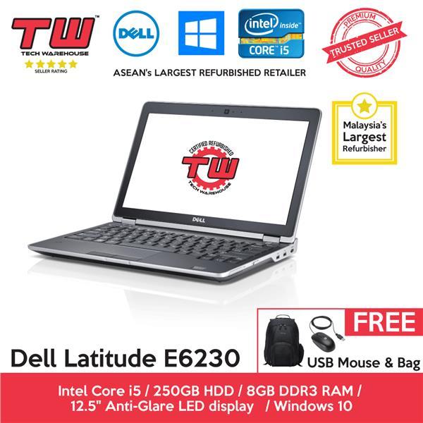 Dell Latitude E6230 Core i5 2 6 GHz / 8GB RAM / 250GB HDD / Windows 10