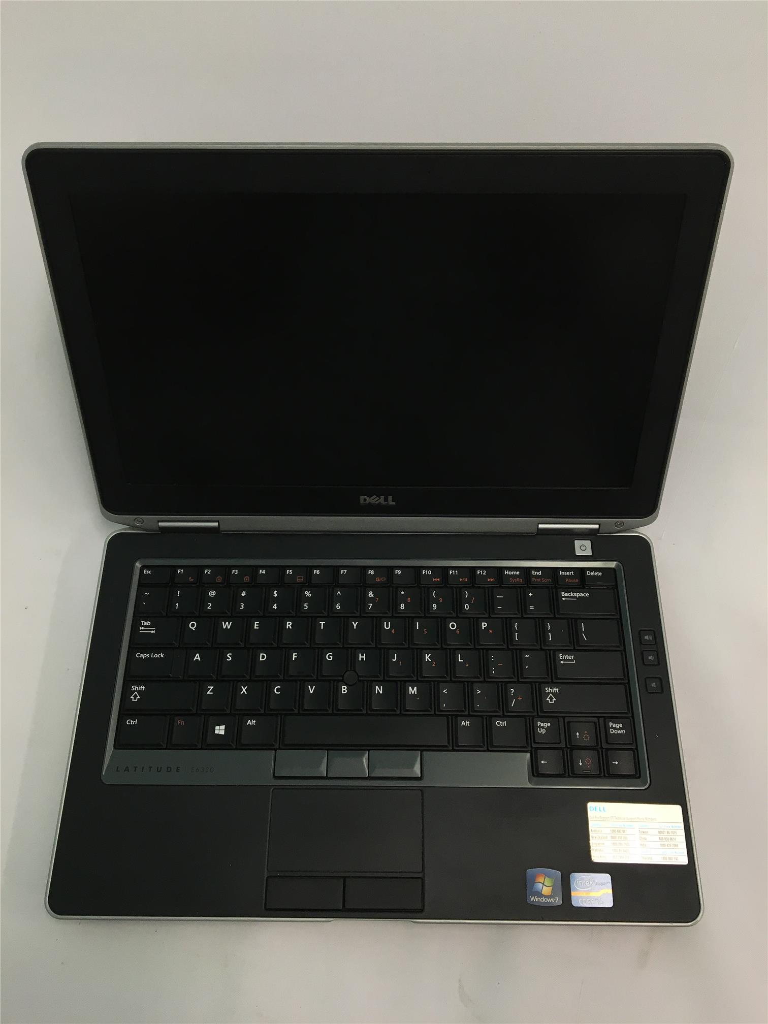 Dell Latitude E6330 i5-3320M 2.6GHz/ 4GB/ 320GB/ RW/ Without Webcam