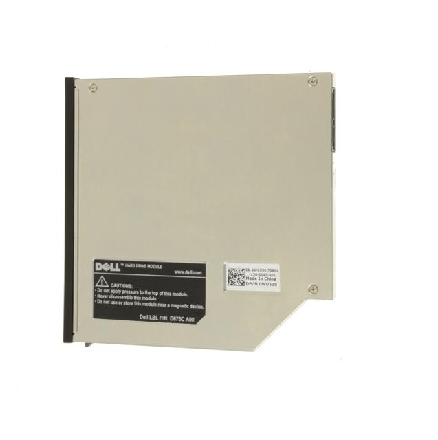 Dell Latitude E6400/E6500 SATA Media Bay Hard Drive Module 120GB D675C