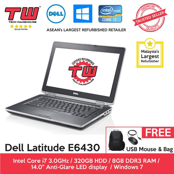 Dell Latitude E6430 Core i7 Laptop (Factory Refurbished)