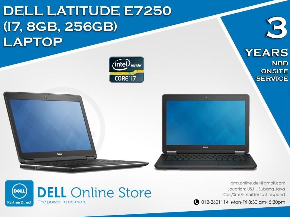 efe41f41c9ed Dell Latitude E7250 (i7,8GB,256GB) Laptop/Notebook