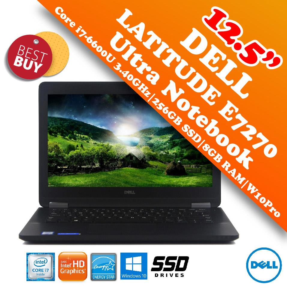 Dell Latitude E7270 i7-6600U Business Class Notebook Special Offer!!
