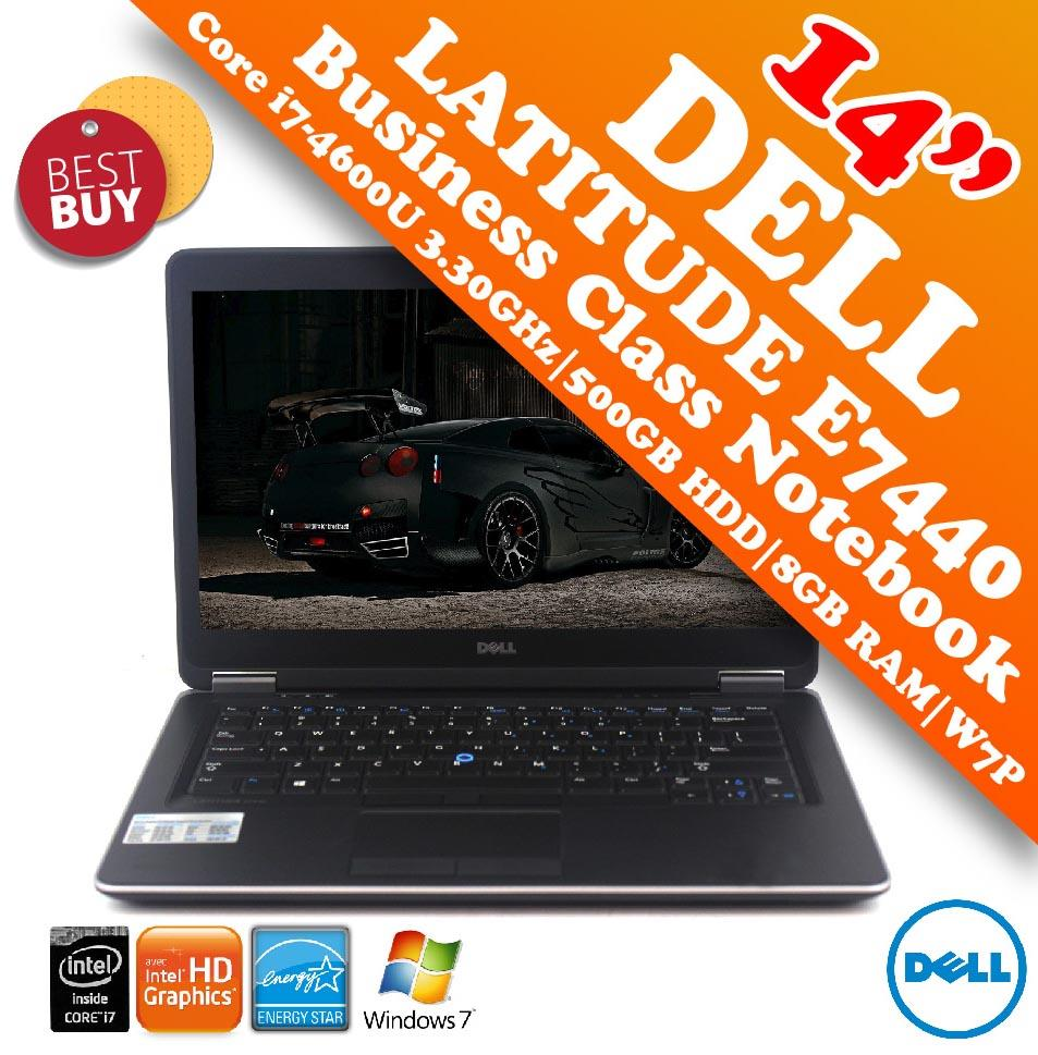 Dell Latitude E7440 i7-4600U Business Class Notebook Special Offer!!!