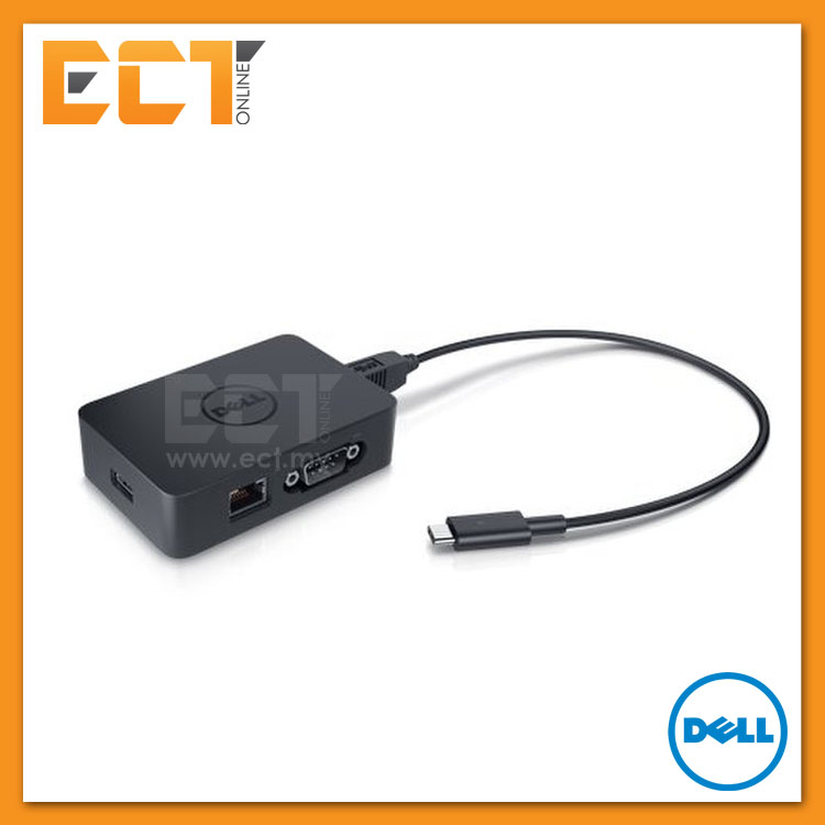 Dell Legacy Adapter LD17 (USB Type-C/USB3 0 to  USB2 0,Parallel,Serial,Network)