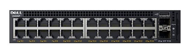 Dell Networking X1026P Smart Web Managed Switch (210-AEIN)