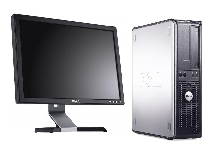 "Dell Opti 780 (SFF) + Windows 7 Professional + 17"" Monitor"