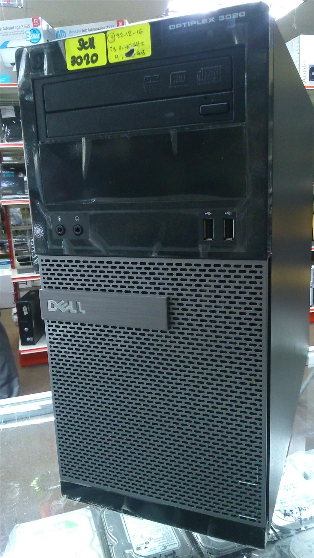 Dell Optiplex 3020 MT Core i3 4th Gen 3.40Ghz/4GB/500GB Windows8 Pro