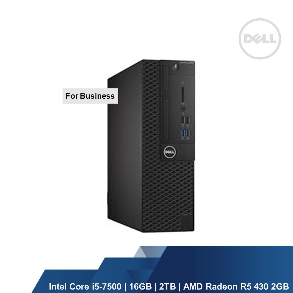 DELL OPTIPLEX 3050 SFF (INTEL I5-7500,16GB,2TB,AMD RADEON R5 430  2G,WIN10PRO,1