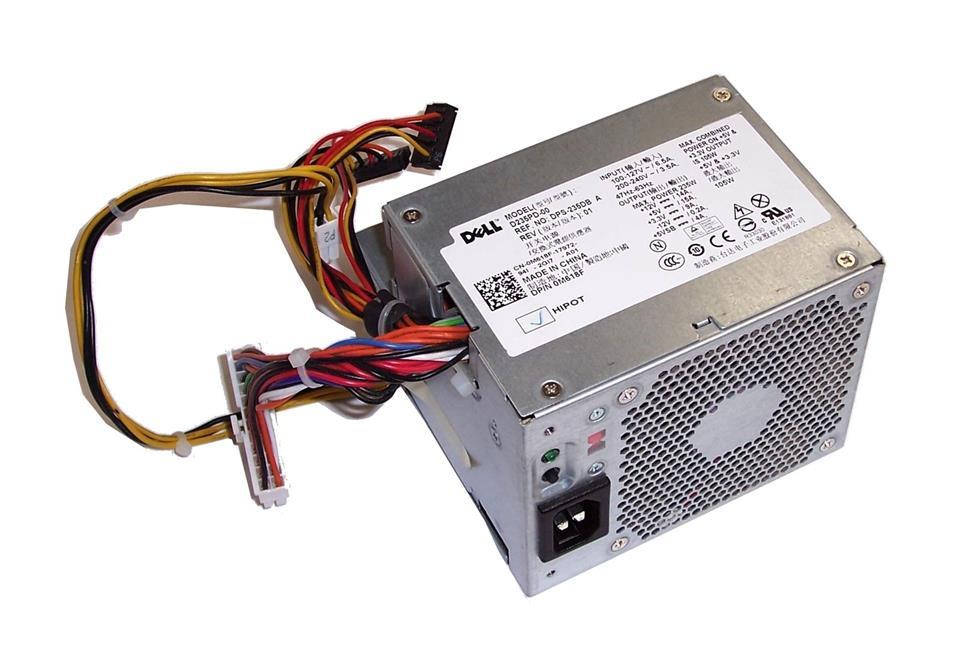 DELL Optiplex 320 330 360 380 DT 235W Power Supply PSU M618F D233N
