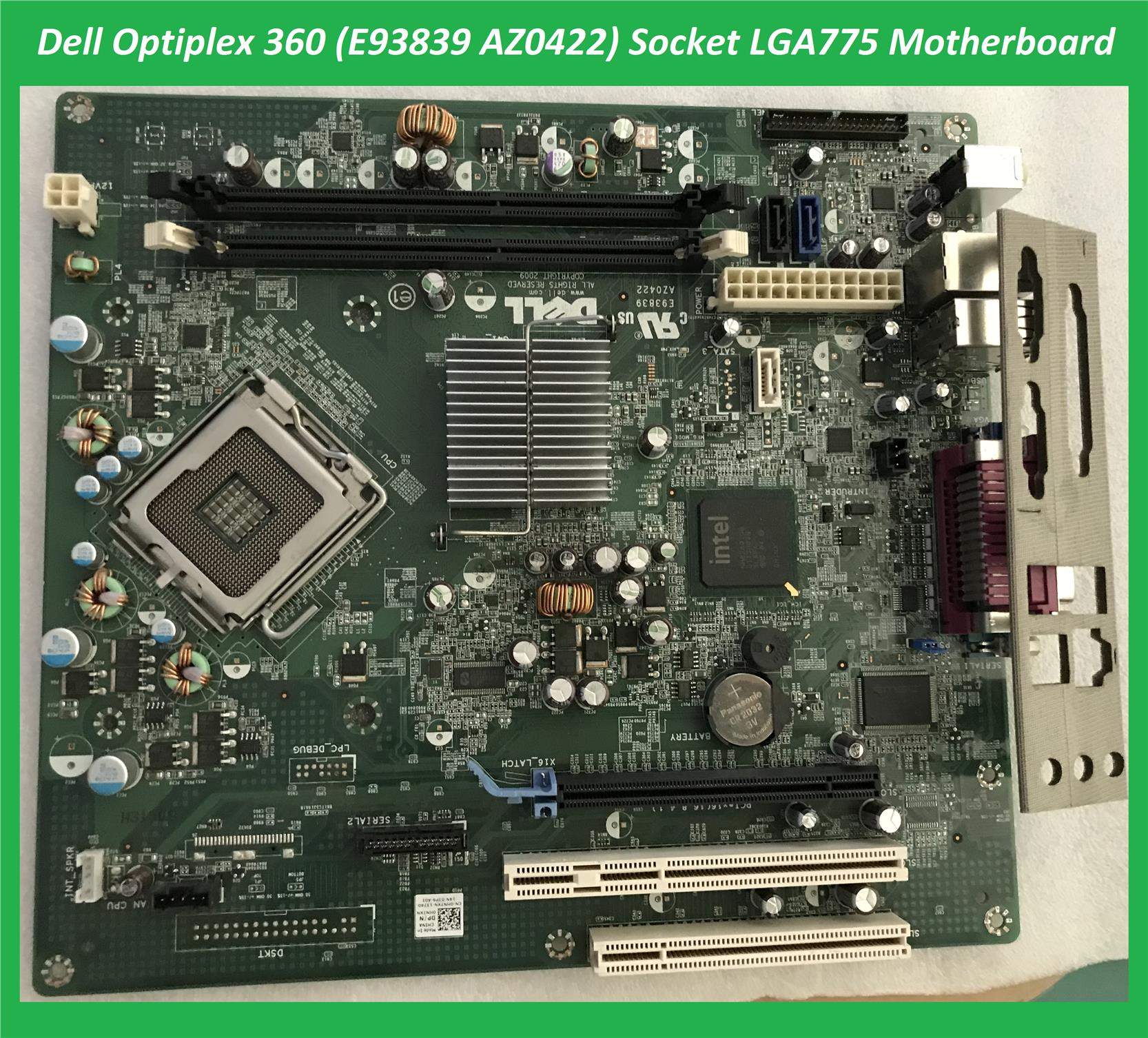 Pleasant Dell Optiplex 380 Desktop Az0422 Socket Lga775 Motherboard Best Image Libraries Sapebelowcountryjoecom