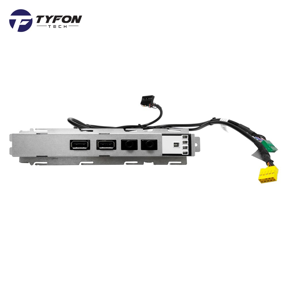 Dell Optiplex 390 3010 DT Desktop Front I/O Panel USB Audio LED