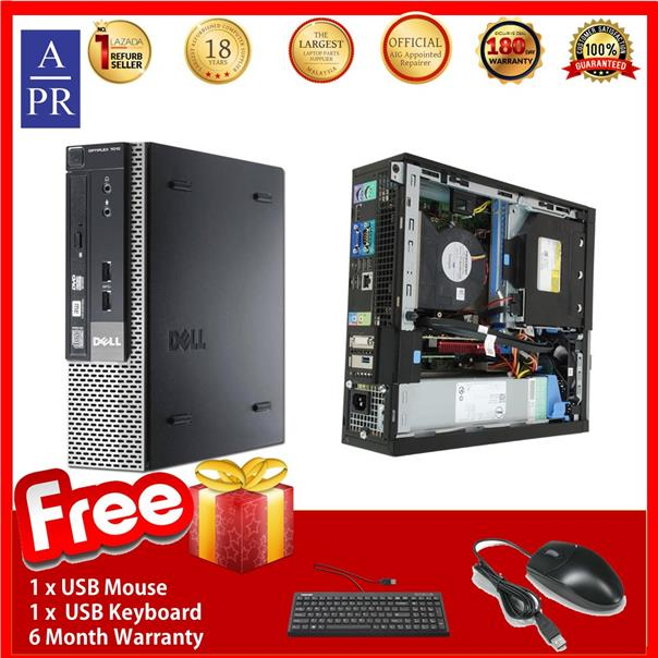 Dell Optiplex 7010 SFF Desktop PC (Factory Refurbished) core i5 3240 3