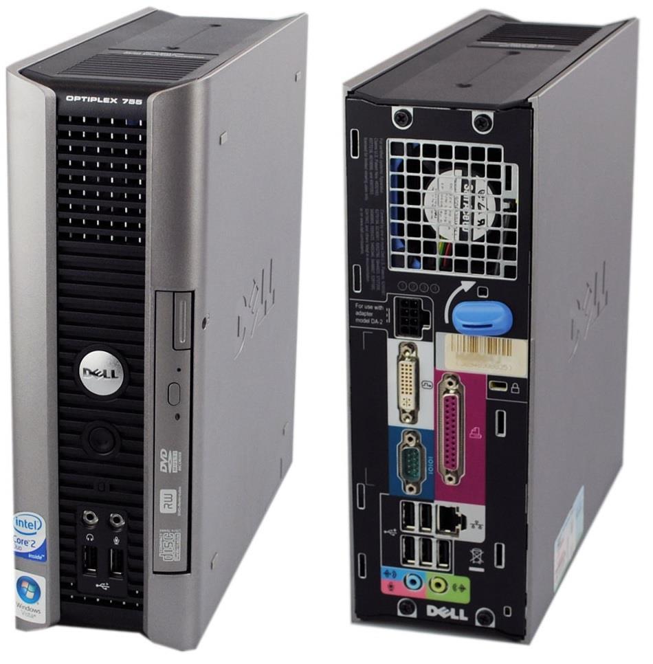 Dell Optiplex 760 USFF Core 2 Duo E7300@2 66Ghz 80GB HDD 1GB RAM