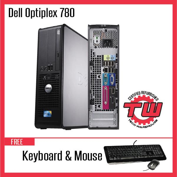 Dell Optiplex 780 Desktop PC (Refurbished) + 4GB RAM