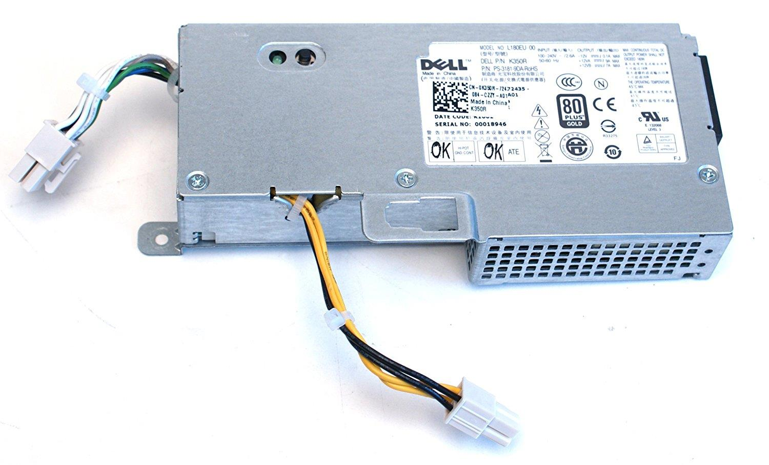 New Dell Optiplex 780 USFF 180W Power Supply Unit PSU M178R K350R