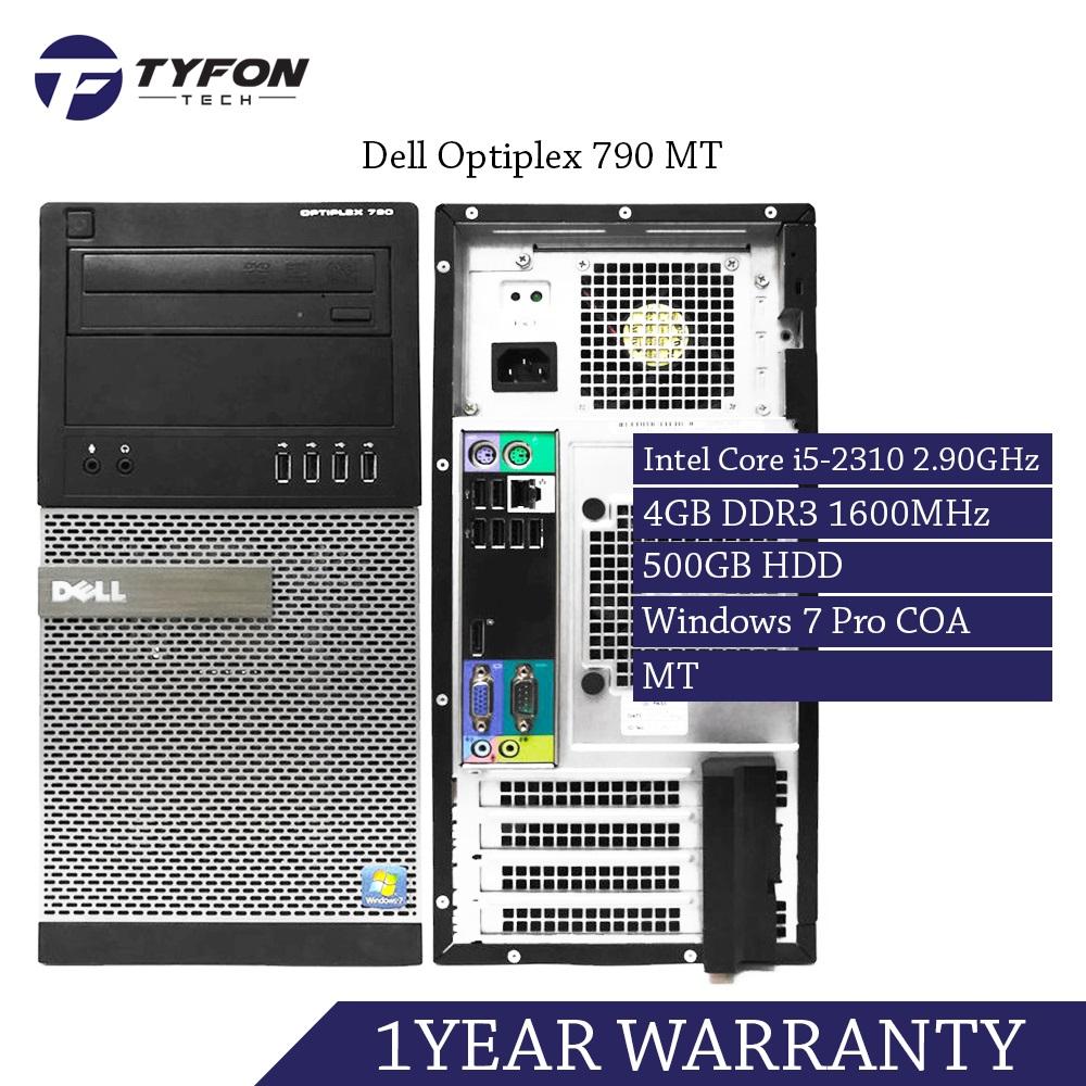 Dell Optiplex 790 MT i5 Desktop PC Computer (Refurbished)