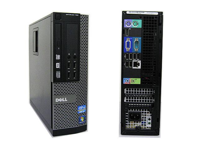 Dell OptiPlex 790 SFF  Desktop-PC Core i3 2120, 3,3GHz, 4GB, 250GB