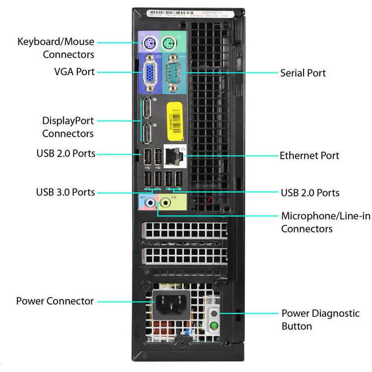 Dell OptiPlex 9020 Small Form Factor PC (Core i5-4590 3 30GHz,1TB,8GB,