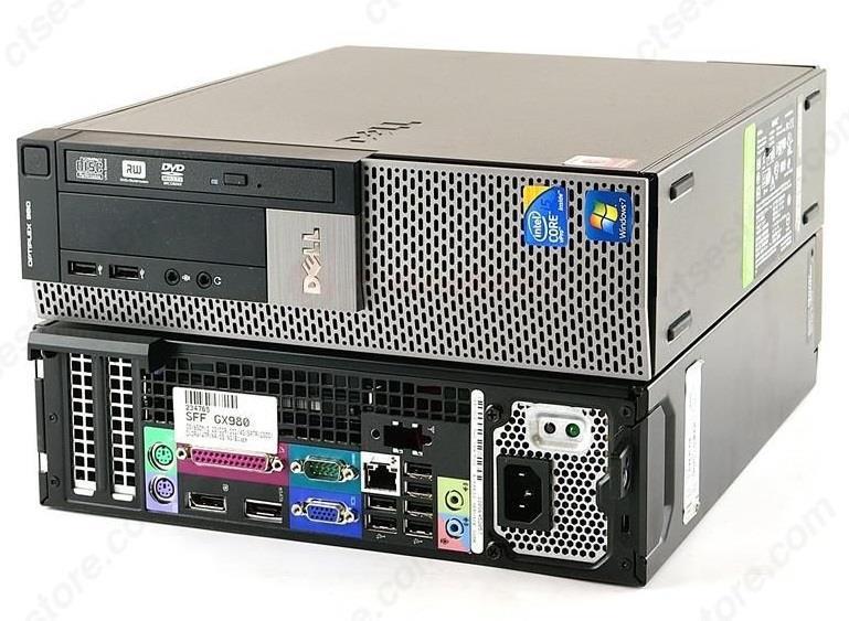 dda9154437d9e1 Dell Optiplex 980 SFF Intel i5 Desktop 4GB 128GB SSD Win7 PRO PC