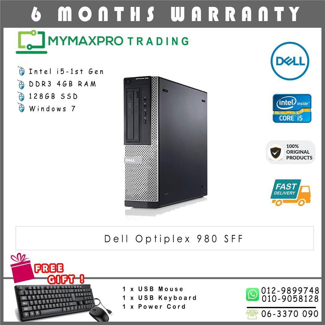 ae240cc4afc753 Dell Optiplex 980 SFF Intel i5 Deskt (end 3 15 2019 9 24 AM)