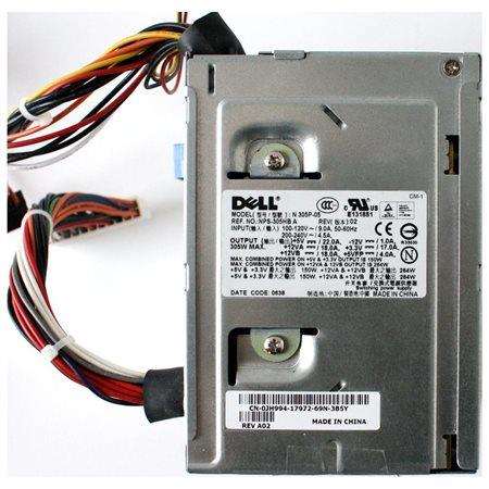 Dell Optiplex MT Mini Tower 305Watt Power Supply PSU 0JH999 N 305P-05