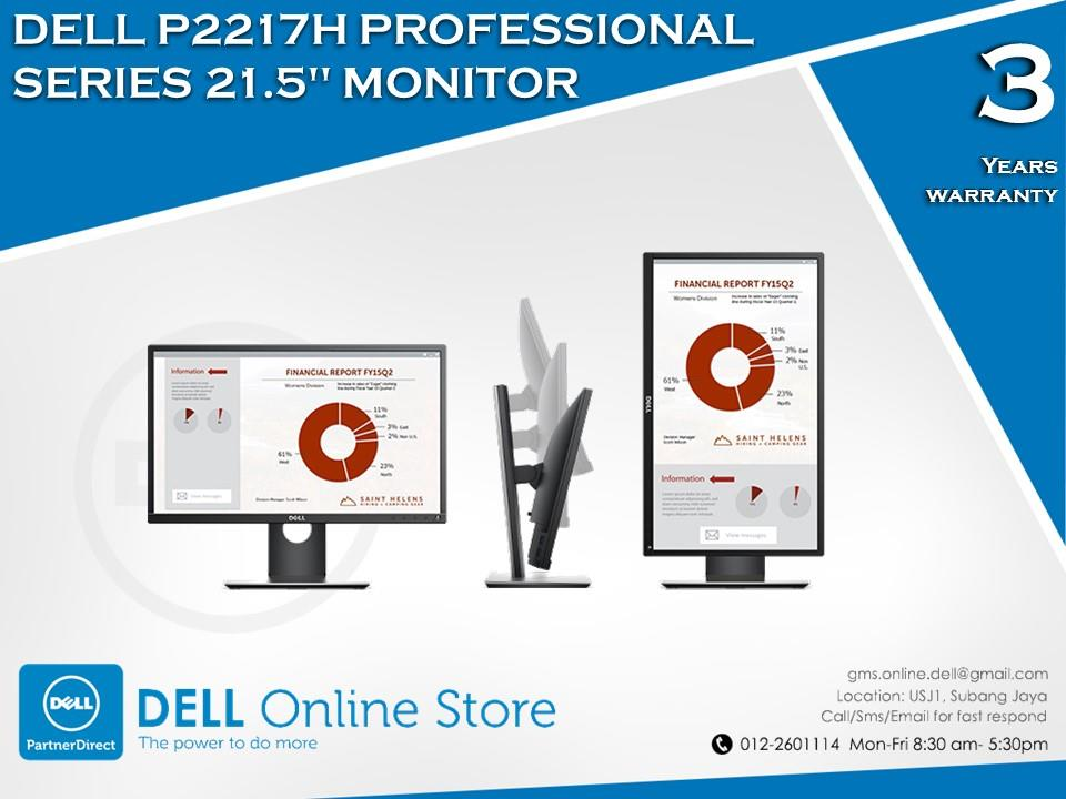 drivers for dell p2217h monitor