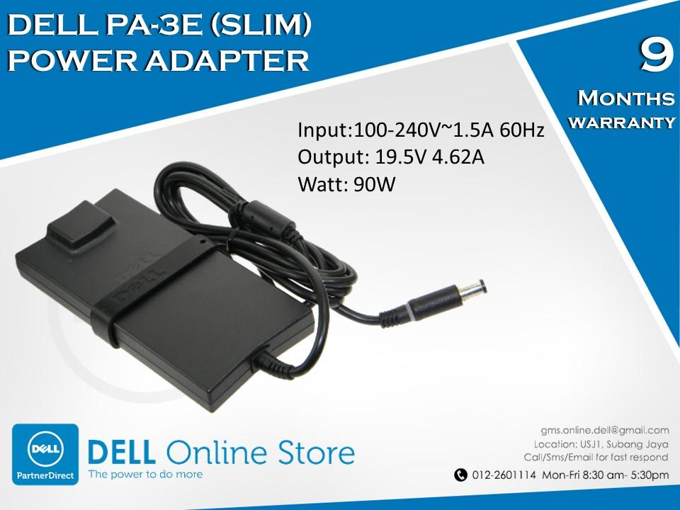 Dell PA-3E (Slim) 90W Power Adapter