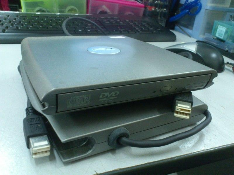 Dell PD01S External USB DVD Combo Drive 230813