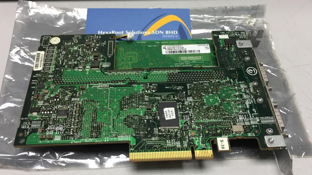 Dell Perc 5E PCI-E SAS Dual Channel Raid Controller XM768 0XM768