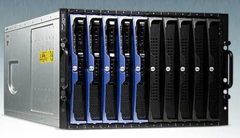 Dell PowerEdge 1955 Blade Centre with 10 x BLADE Servers