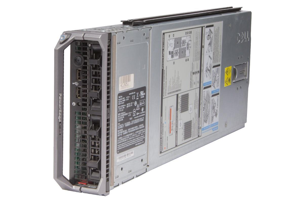 Dell PowerEdge M710HD Blade Server Xeon X5660 2.8GHz x2 144GB 146GB x2