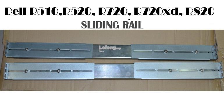 Dell PowerEdge R510 R520 R720 R720xd R820 Sliding Rails