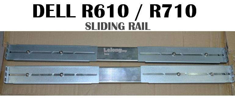 Dell poweredge R610 , Dell poweredge R710 SLIDING Rails KIT