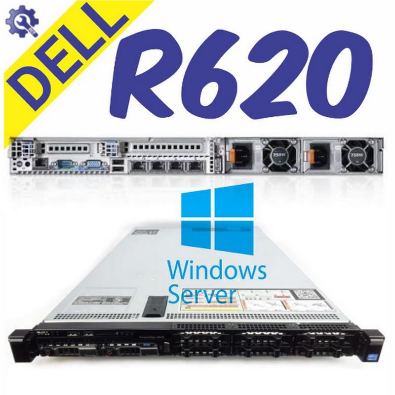 Dell PowerEdge R620 Server -16 Core 32GB [ 95% NEW ]