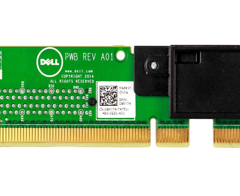 Dell PowerEdge R630 3 0 X16 Pci-e 08ky74 Placa Riser Board 8KY74