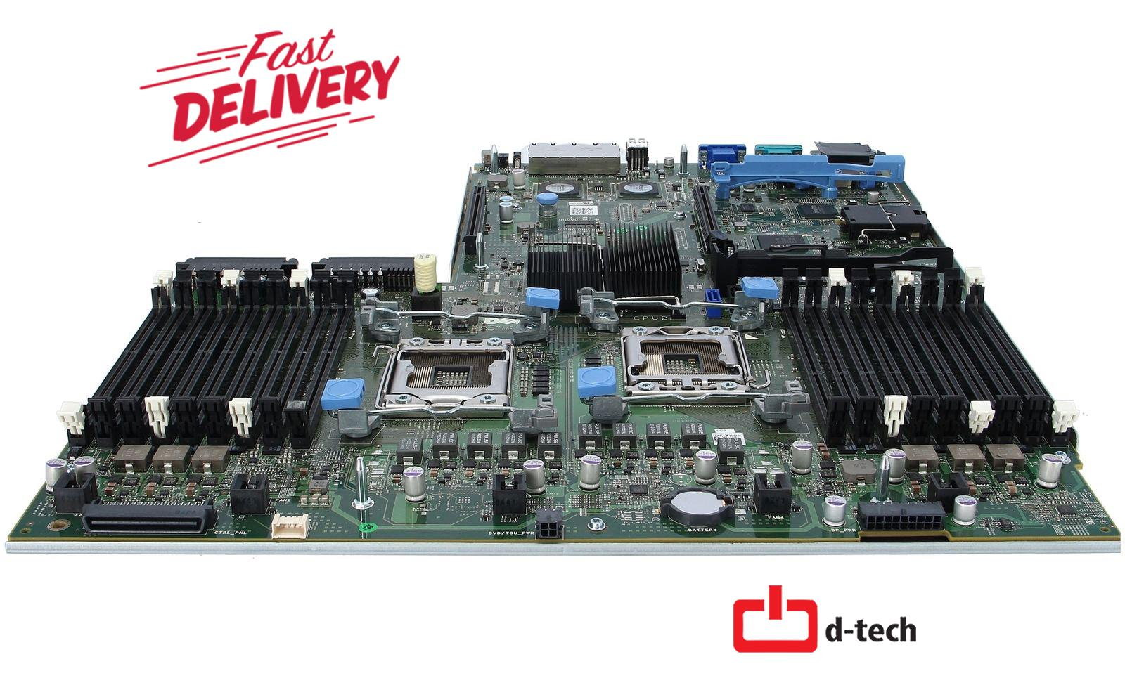 Dell PowerEdge R710 Server Motherboard 0NH4P YMXG9 NC7T0 9YY69 MD99X