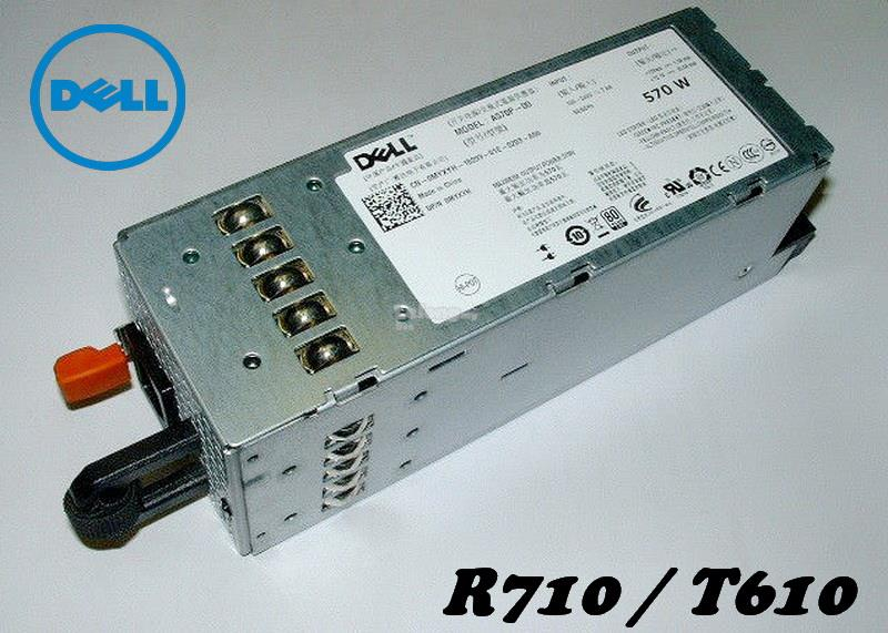 Dell PowerEdge R710,T610 Power Supply RXCPH, 7NVX8 (570W~870W)