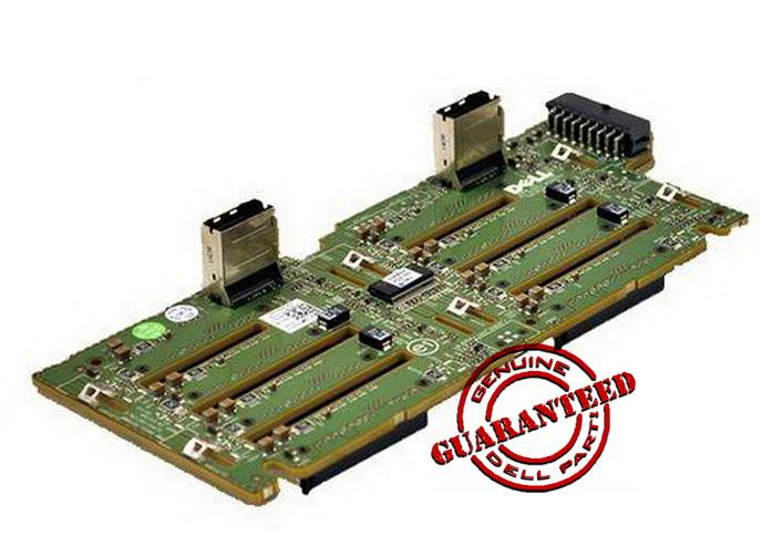 NEW Dell PowerEdge R710 x8 SAS Backplane Board MX827 & cable RN696