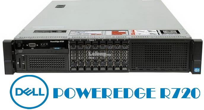 DELL POWEREDGE R720 2U RACK SERVER E5-2620,12 Core,Perc H310,8 Bay