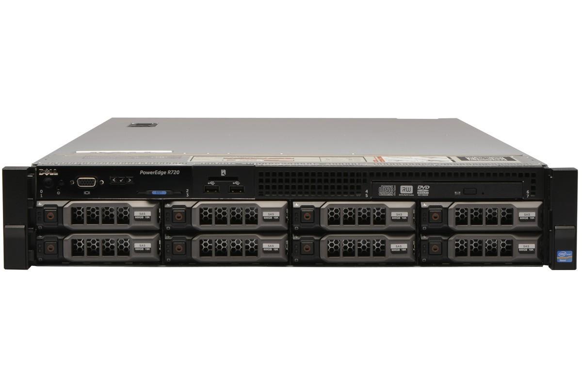 Dell PowerEdge R720 Rack Server Xeon E5-2640 V2,16GB,2TBX3