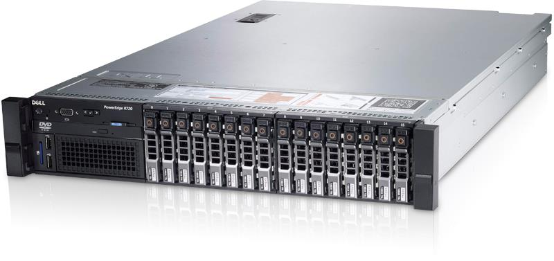Dell PowerEdge R720 Rack Server Xeon E5-2660,16GB,300GBX8