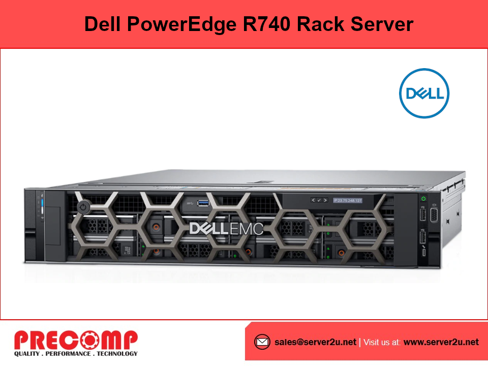Dell PowerEdge R740 Rack Server (S5218-16GB-600GB) (R740-XG5218)