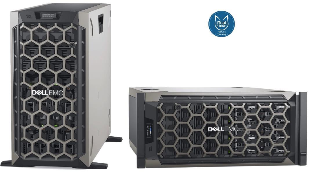 NEW DELL POWEREDGE T140 TOWER SERVER/INTEL XEON-2124/8GB/1TB-3YW