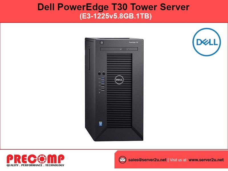 Dell PowerEdge T30 Tower Server (E3- (end 4/26/2019 4:13 PM