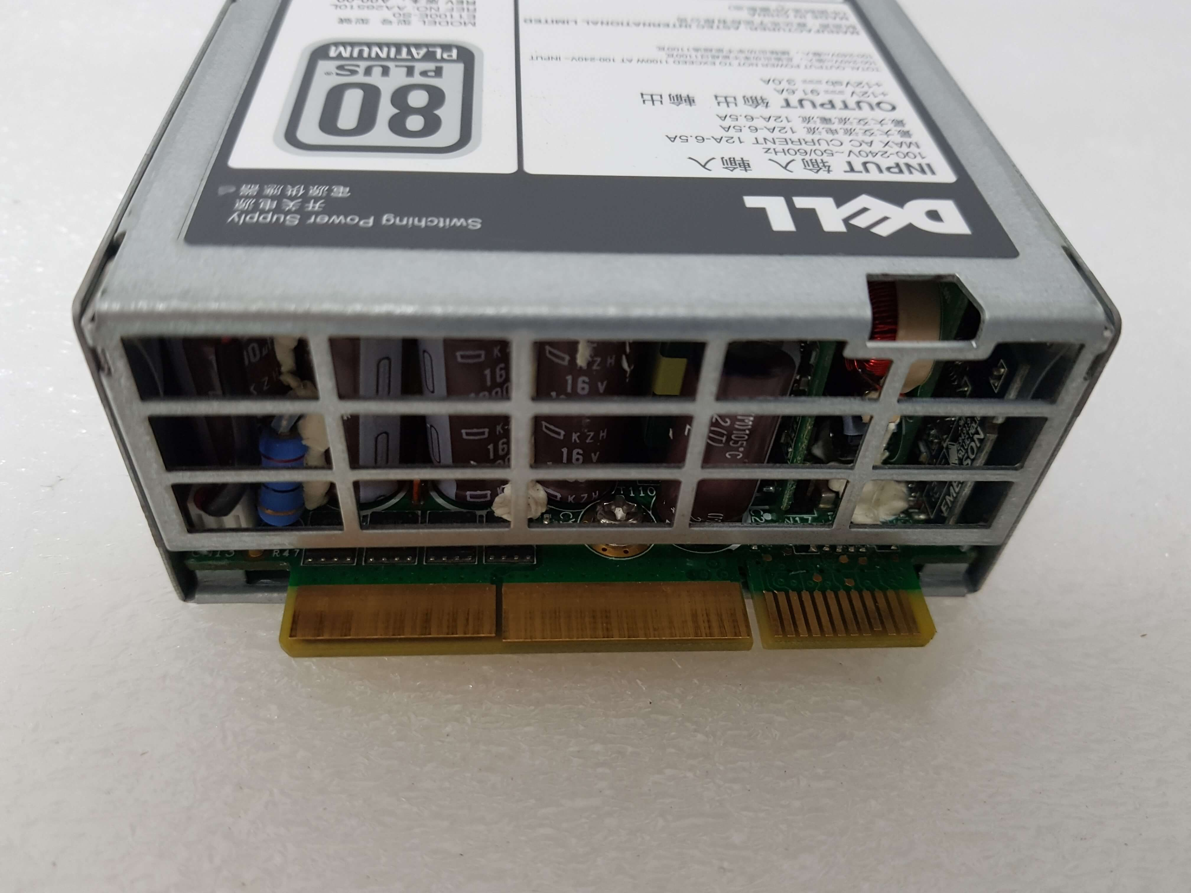 Dell PowerEdge T620 Tower Server 1100W Power Supply PSU HT6GX (Used)
